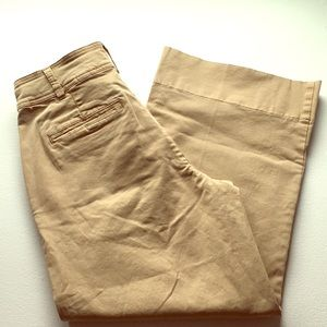 Luck Brand NWT Wide Leg Cropped Pants